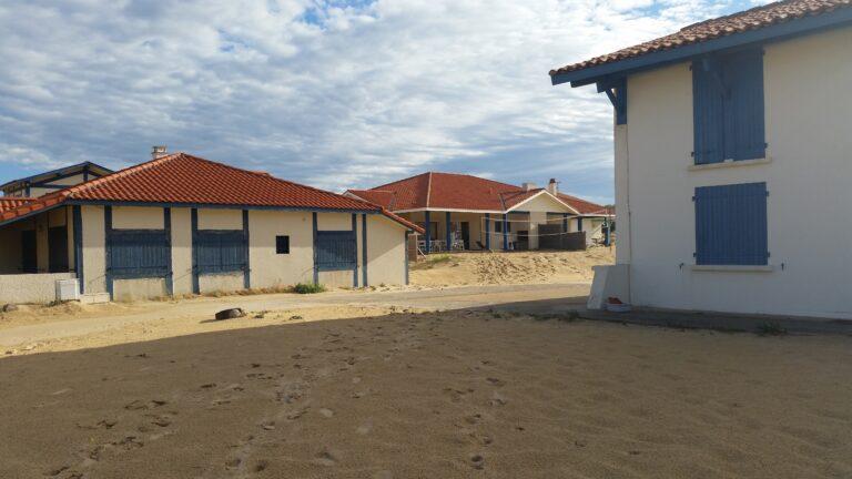 Häuser in St. Grions Plage