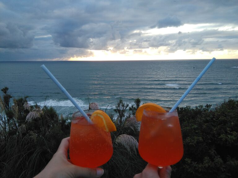 Drinks in Biarritz