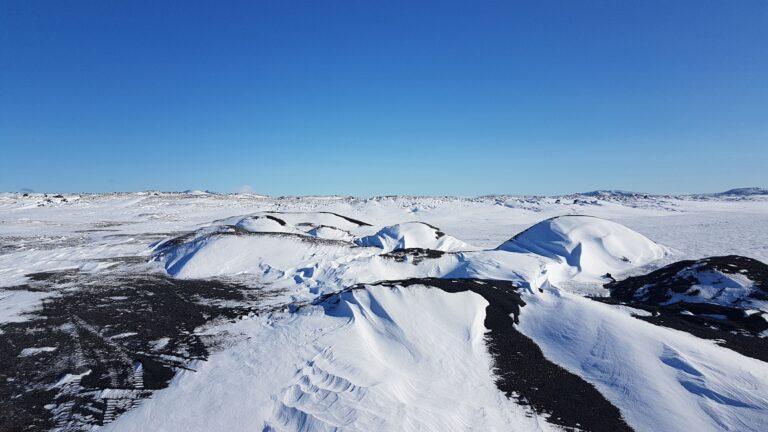 Wunderschöne Landschaft in Island
